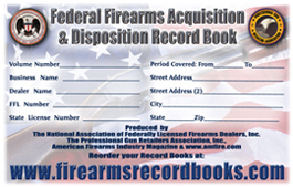 The Original Oversized Fire Arms Record Book